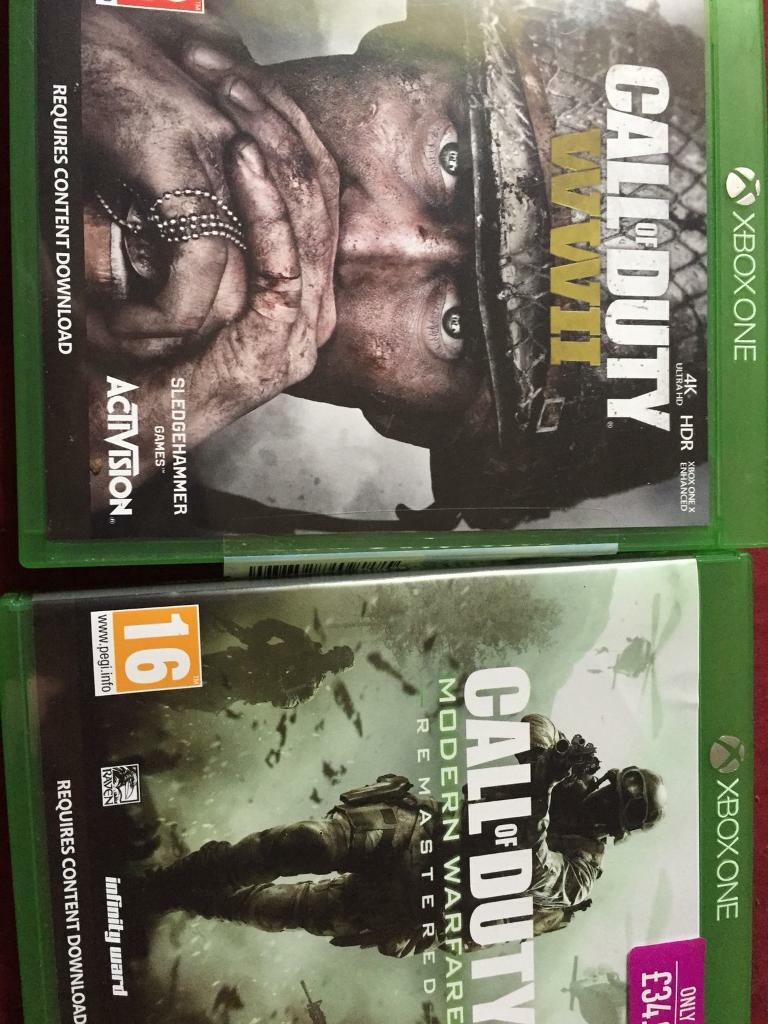 Call of duty remastered and world war 2