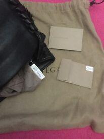 Bottega veneta top handle bag genuine black
