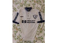 1995 - 97 Tottenham / THFC / Spurs / Home Football Shirt, Sheringham No10