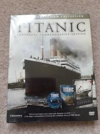 Titanic dvd and compendium collection