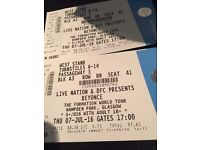 2 seating Beyonce tickets Hampden