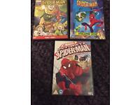 Cartoon spider man DVDs