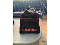 Salomon large ski bag for your boots and clothing