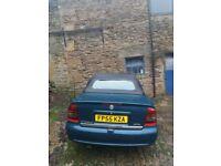 Vauxhall Astra Cabriolet Spares/Repairs