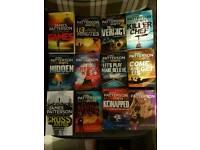 Various james patterson books