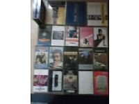 MUSIC CASSETTES (double and single)