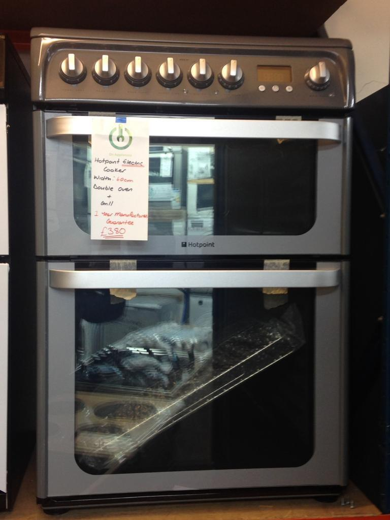 ***NEW Hotpoint 60cm wife electric cooker for SALE with 1 year guarantee***