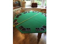 Poker and BlackJack Gaming Board