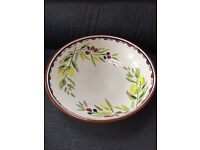 Large M&S Tuscany fruit/salad bowl - FREE