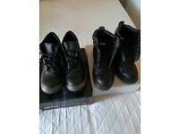 2 pair safety boots size 8 worn once