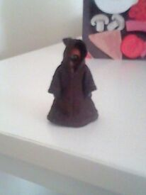 Vintage 1977 Star Wars Jawa figure with cape