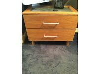 Bedroom furniture 2 sides one tall chest drawers