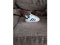 Boys size 8 adidas trainers