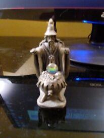 The Cauldron of Light Wizard Figure
