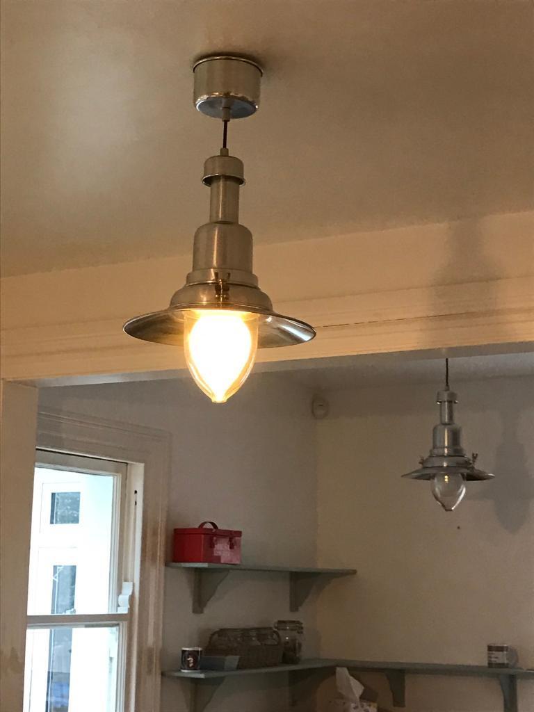 Lightsin Hayling Island, HampshireGumtree - Beautiful ceiling lights, lantern style. 3 available. Price per light. Good condition