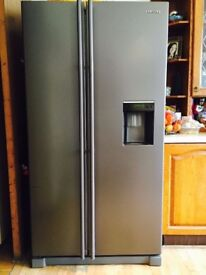 Samsung American fridge freezer with filtered water dispenser