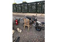 Pit bike job lot