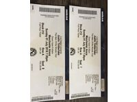 Justin Timberlake 2 tickets,Manchester Arena,29 August 2018