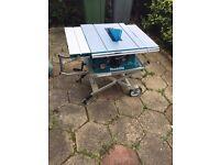 MAKITA MLT100 TABLE SAW & STAND - £300