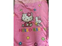 Hello Kitty Single Double Sided Quilt Cover and Pillow Case