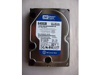 640Gb hard drive (SATA)