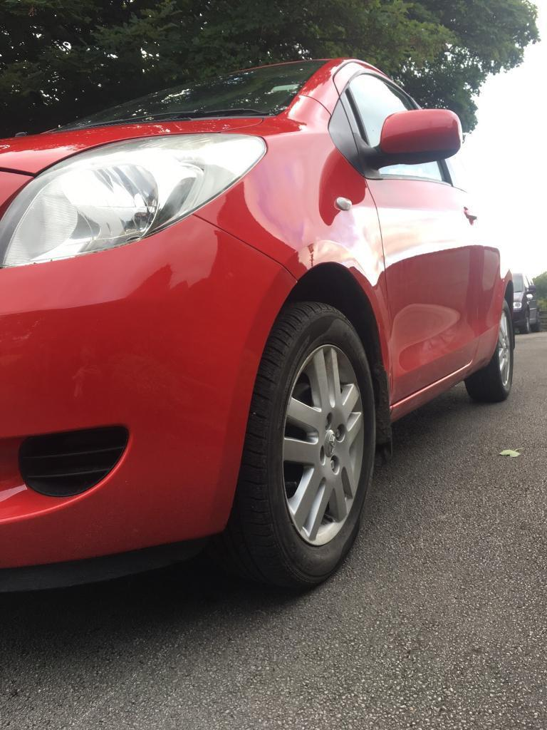 TOYOTA YARIS 1.3 MANUAL PETROL 38K