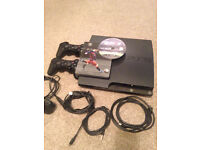 Sony PS3, 120gb + 2 Controlers + 2 Charging Cables + HDMI cable + FIFA 16 !!!