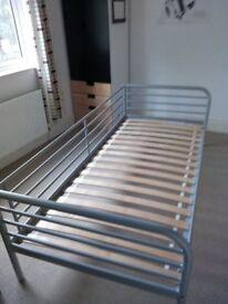 Bed, Steel frame, Childrens