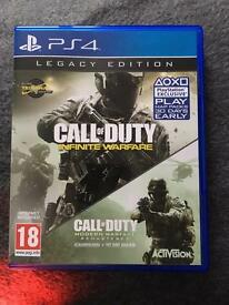 Call of duty legacy edition PS4 game