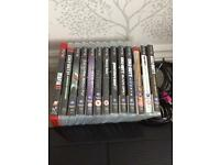 PlayStation 3 500gb and games