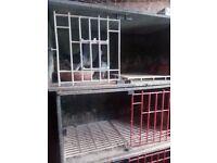 Racing pigeon widowhood nest box's.