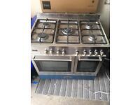 Delonghi 90cm 5 Burner Dual Oven
