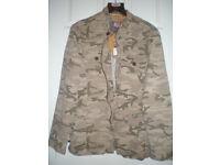 """Mantaray Camouflage Mens Jacket New Medium 42/44"""""""