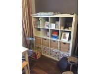 IKEA expedit/kallax 4x4 storage unit SOLD PENDING COLLECTION