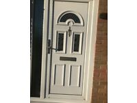2 matching double glazed doors in excellent condition.