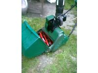 QUALCAST SELF PROPELLED MOWER AND BOX