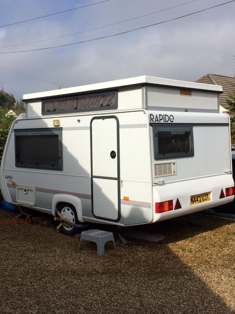 caravan for sale rapido club 32t 2 birth in ringwood. Black Bedroom Furniture Sets. Home Design Ideas