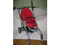 Maxi Cosi Push Chair (Red) and accessories