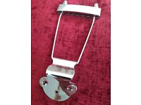 Trapeze Tailpeice - chrome - suits any semi-acoustic guitar