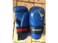 Sparring equipment tae Kwon do martial arts do gloves helmet and shoes