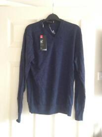 Men's Under Armour Navy Jumper/Sweater Size M