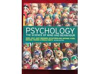 Psychology: The Science of Mind and Behaviour (2nd edition)