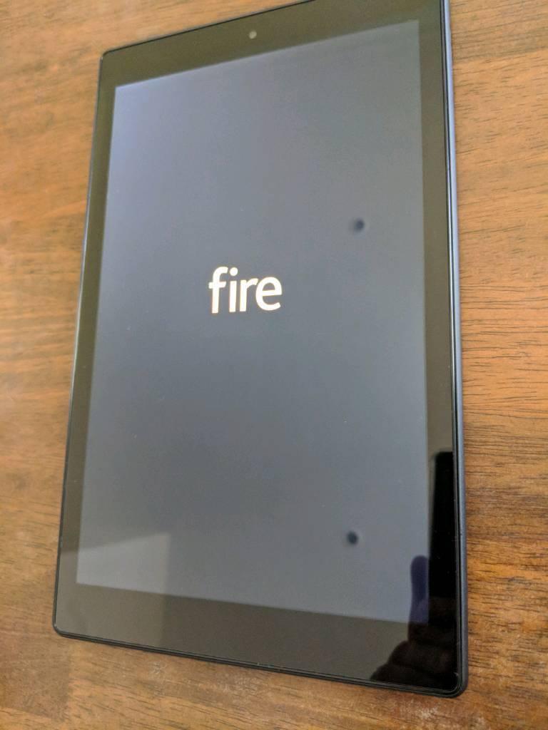 Amazon Kindle Fire HD 10 (2017) 64gb black 10