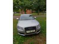 audi a3 2009,engine 1.9 dieselfull service history,the car is driving perfect mot till february 2019