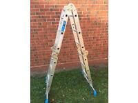 4 in 1 aluminium ladder