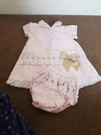 6/9 month spanish dress