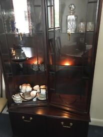 Dining room/living room display cabinet