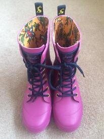 Brand new with tag Joules Wellies - RRP £44.95
