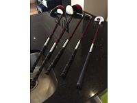 Fazer junior j-tek 3.0 golf set and bag