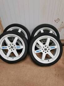 "Ravs engineering 18""alloys"